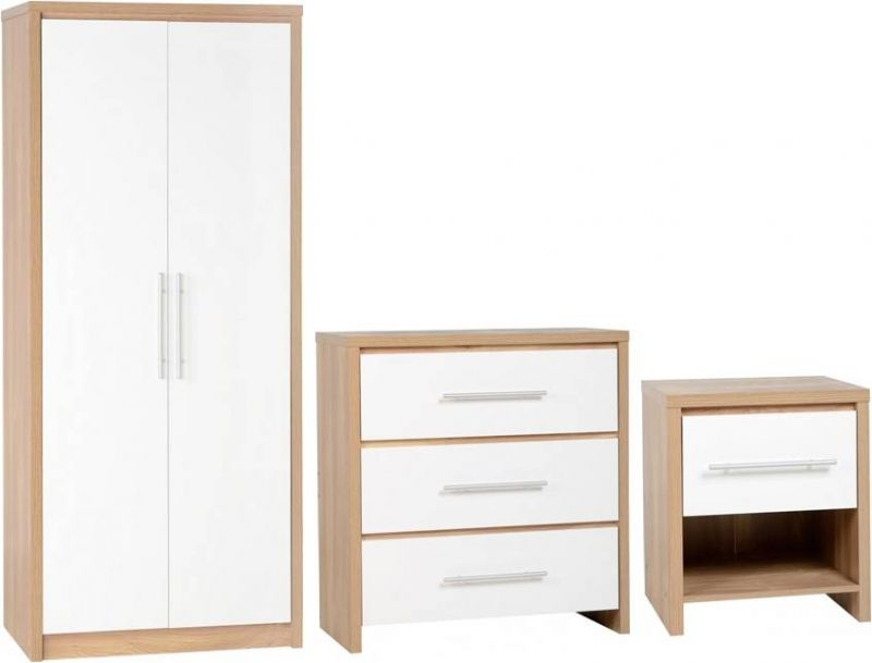 Exceptional Seville Bedroom Set WHITE