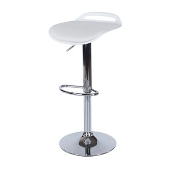 Aspen White Upholstered Bar Stool ASBS3W (Sold In Pairs)