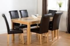 "Wexford 59"" Dining Set - Dunoon Chair"